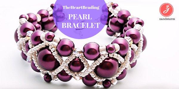 Video tutorial:  Pearl Bracelet (01/2018)