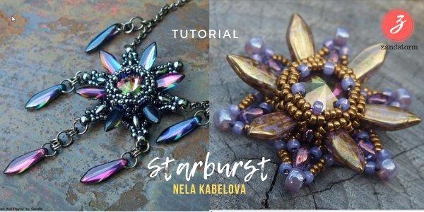 Tutorial: Starburst hanger met Dagger beads (01/2019)