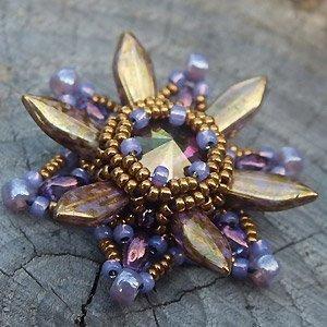 Gratis Schema Dagger Beads - Starburst Hanger
