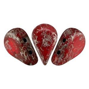 Amos Par Puca - Glas - Opaque Light Coral Ladybug