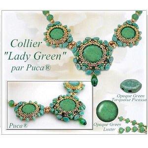Gratis Schema Paros - Halsketting Lady Green