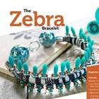 Exclusief Schema Dagger Beads - Zebra Bracelet