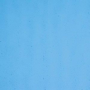 Bullseye - Transparent Turquoise Blue - Coe 90 - 12.5x14.5cm