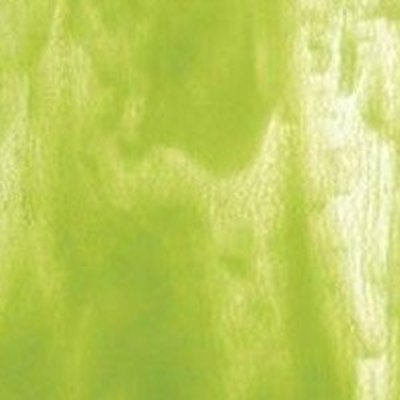 Bullseye - Clear/Spring Green Opal - Coe 90 - 12.5x14.5cm