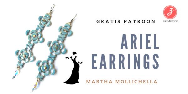 """Throwback time: """"Ariel oorbellen"""" met Arcos & Minos kralen"""