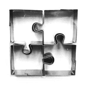 4  Uitsteekvormen Inox - Puzzel