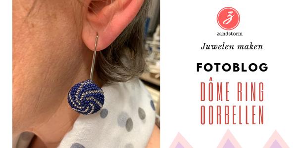Fotolog - workshop Dome ring en oorbellen
