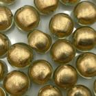 Coin - Citrien gouden kern - Murano glas - 12mm