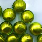 Coin - Limoen - Murano glas - 12mm