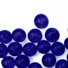 Rond - Donker blauw - Murano glas - 6mm