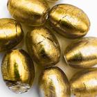 Ovaal - Geel gouden kern - Murano glas - 19.5x15.5mm