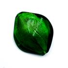 Ruit - Groen - Murano glas - 37.50x15.4mm