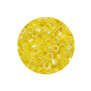 Delica 11/0 - DB1562 -Opaque Canary Luster - 3,2gr