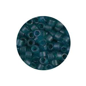 Delica 11/0 - DB788 - Blauwgroen Transparant Mat - 3,2gr