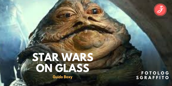 "Fotolog Glasfusing - ""Star wars on glass"""