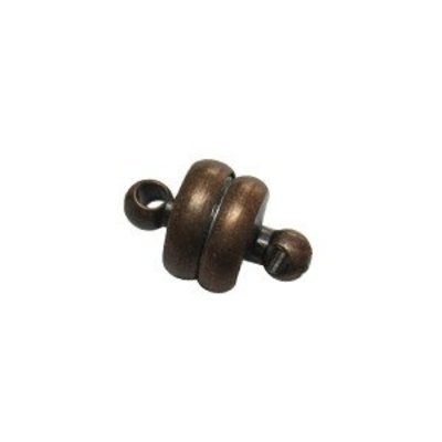 Magneetslot - Brons - Staal - 6mm