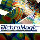 DichroMagic - Premium Tie Dye Pattern Dichro Black - Thin - COE 90
