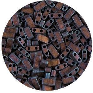 Tila 1/2 - 5mm - Mat Metallic Dark Rasperry Iris