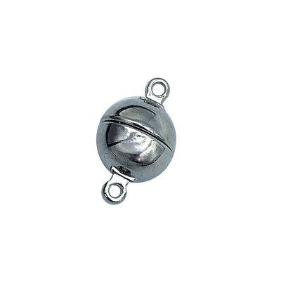 Magneetslot bol - Zilver - Metaal - 10mm