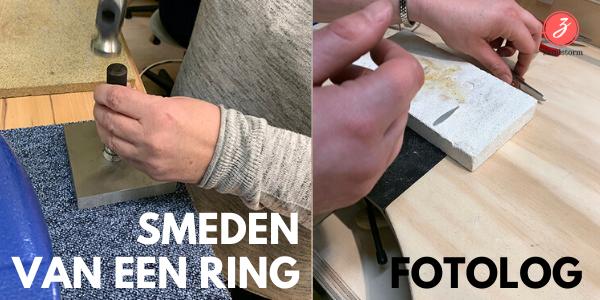 Fotolog: smeden van een ring (02/2020)