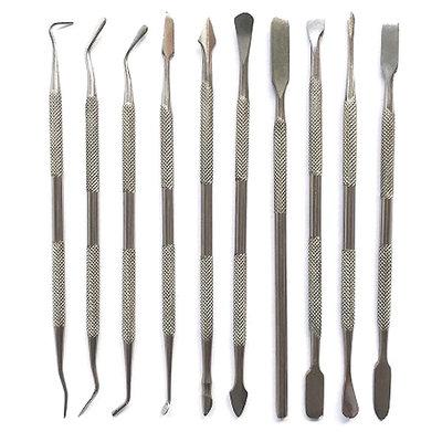 Wax Carver Toolset/modeleerspatels - 10 Stuks - Dubbelzijdig