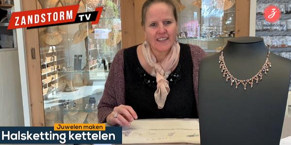 ZandstormTV - Halsketting kettelen (video tutorial)