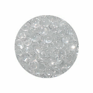 Miyuki Druppel - Crystal transparant mat DP131f - Glas - 3.4mm