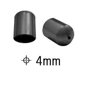 Coppetta - Zwart - Metaal - 4x6mm