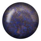Cabochons Par Puca - Opaque Sapphire Bronze - 25mm