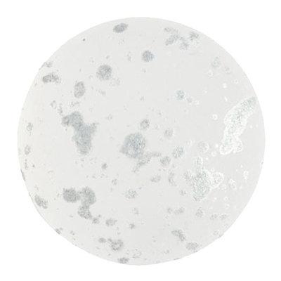 Cabochons Par Puca - Crystal Mat Splash Silver - 25mm