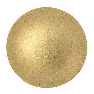 Cabochons Par Puca - Light Gold Mat - 25mm