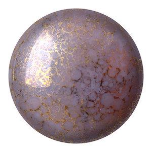 Cabochons Par Puca - Opaque Amethyst Bronze - 18mm