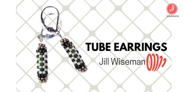 Tube earrings