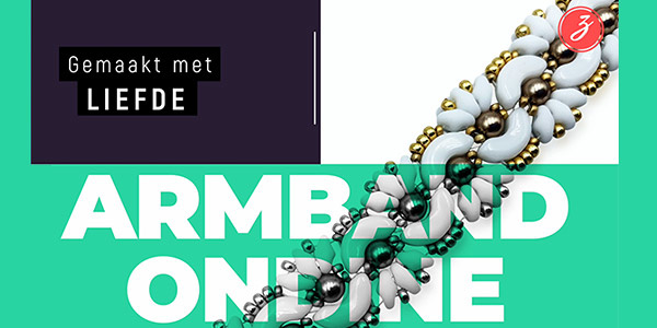 Nieuw pakket - Armband Ondine (Cristina Crijoux)