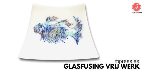 Impressies - workshop glasfusing vrij werk