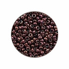 Rocailles Miyuki 15/0 - Metal Dark Raspberry - N°460 - 5 Gr