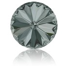 1122 - Rivoli Swarovski - 14mm - Black Diamond