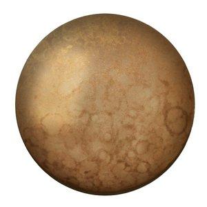 Cabochons Par Puca - Crystal Mat Bronze  - 25mm
