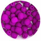 Facetkraal - Violet neon mat - Glas - 6mm