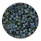 Square Miyuki 1.8mm - SB18 2064 - Metallic Matte Iris Blue Green