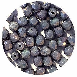 Facetkraal - Zwart/grijs gevlekt - Glas q270 - 4mm