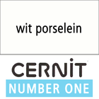 Cernit NO1 Porselein wit (90-010) - 56 gram