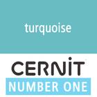 Cernit NO1 Turquoise (90-676) - 56 gram