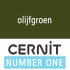 Cernit NO1 Olijfgroen (90-645) - 56 gram
