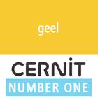 Cernit NO1 Geel (90-700) - 56 gram