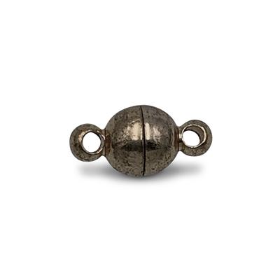 Magneetslot 2 ogen - Brons - Metaal - 4mm