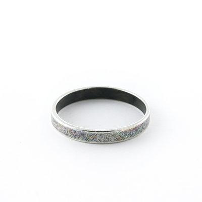 Ring - Oud zilver - Metaal - 20mm