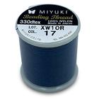 Miyuki Draad - 50m - KM17 - Denim Blauw