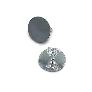 Oorsteker plateau - Zilver - Metaal - 15mm