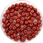 Matubo Superduo - Red metallic mat - 2/5 mm